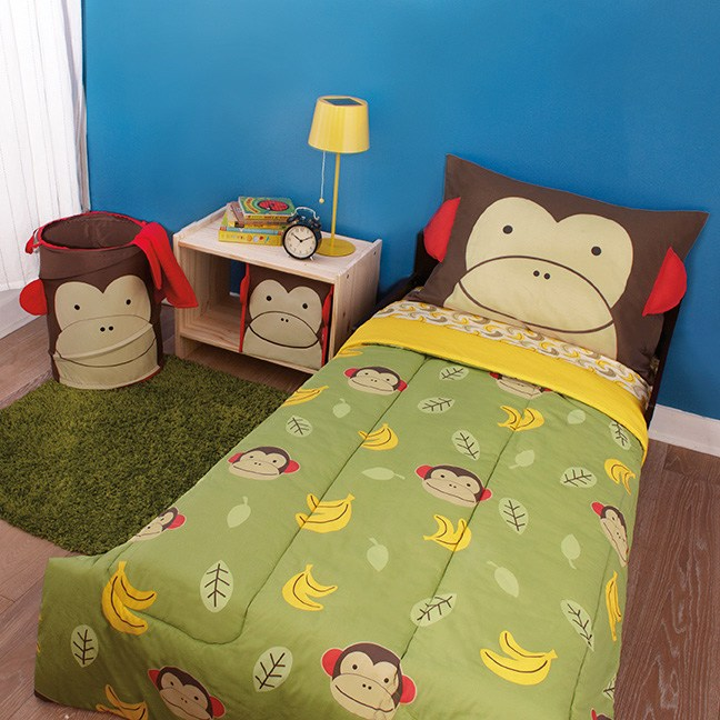 Skip Hop Monkey Toddler Bedding
