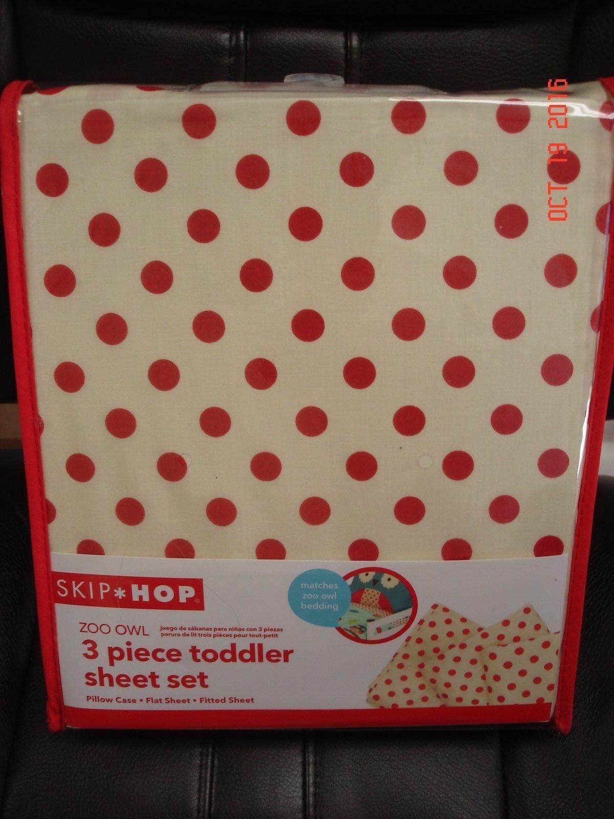 Skip Hop Toddler Sheet Set