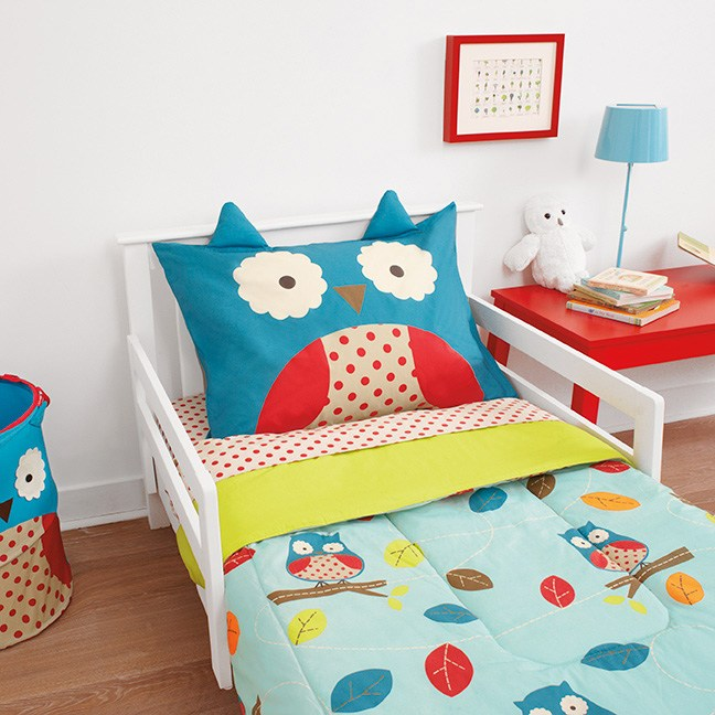 Skip Hop Zoo Toddler Bedding Set Owl