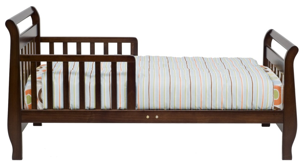 Sleigh Toddler Bed Espresso