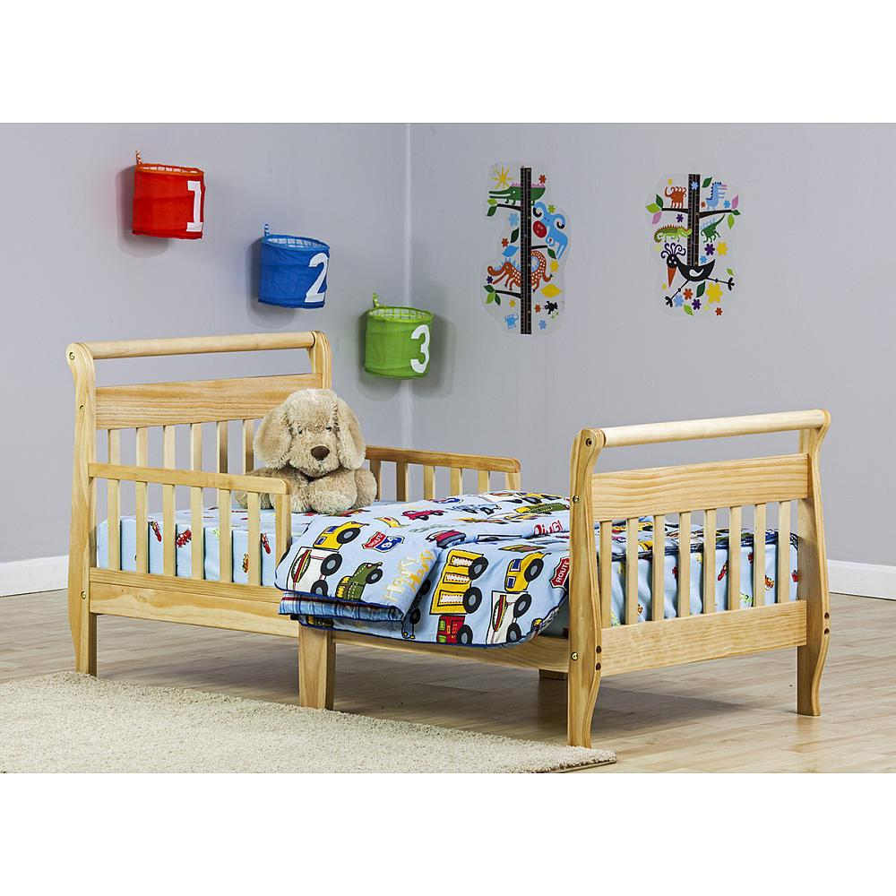 Sleigh Toddler Bed Natural