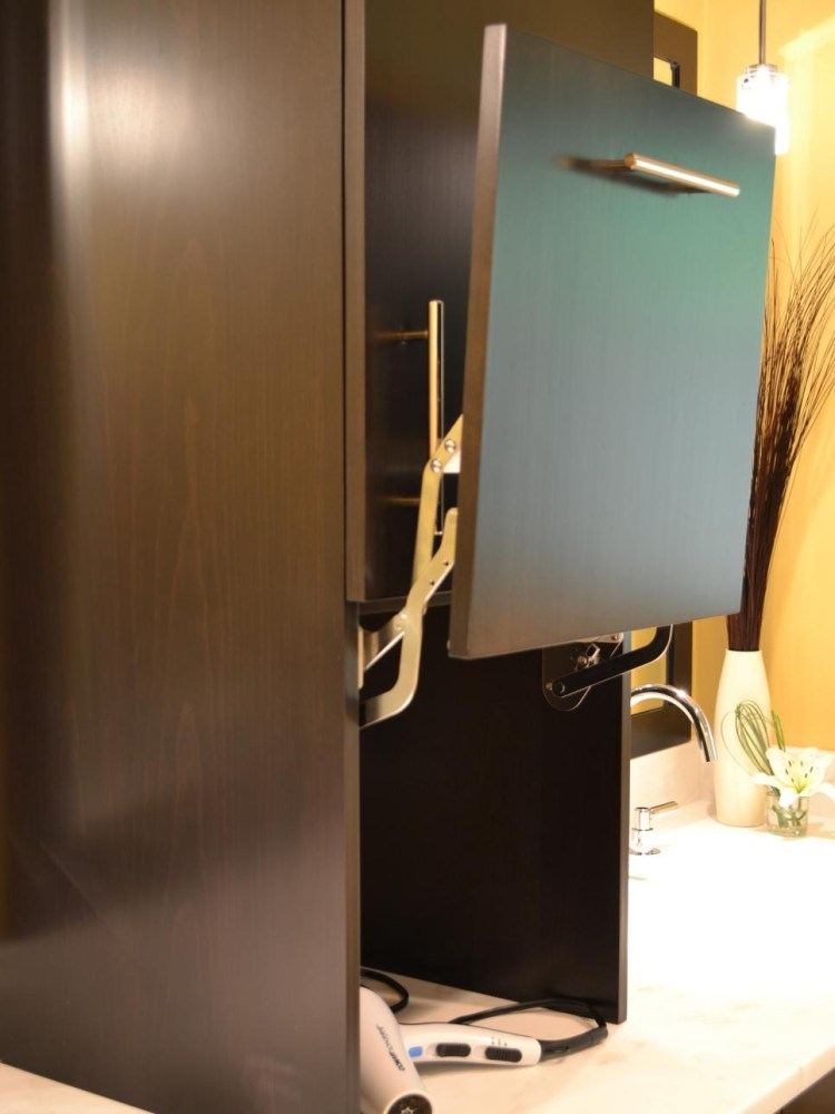 Sliding Glass Mirror Medicine Cabinet
