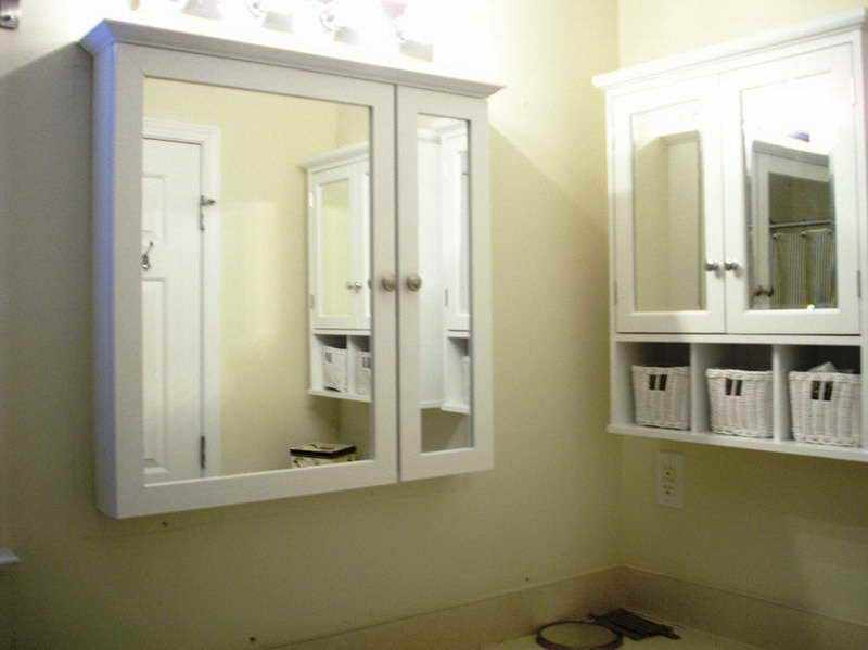 Small Recessed Bathroom Medicine Cabinet