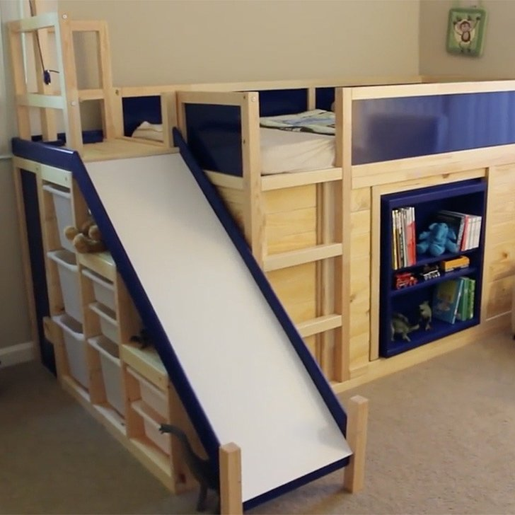 Small Toddler Bed With Storage