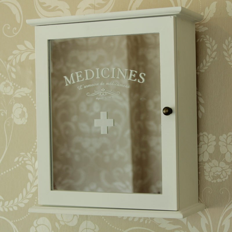 Small White Bathroom Medicine Cabinet