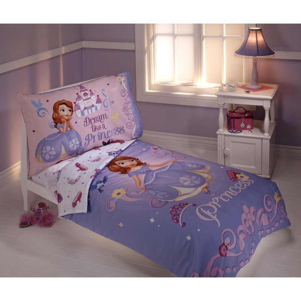 Sofia The First Toddler Bedding Walmart