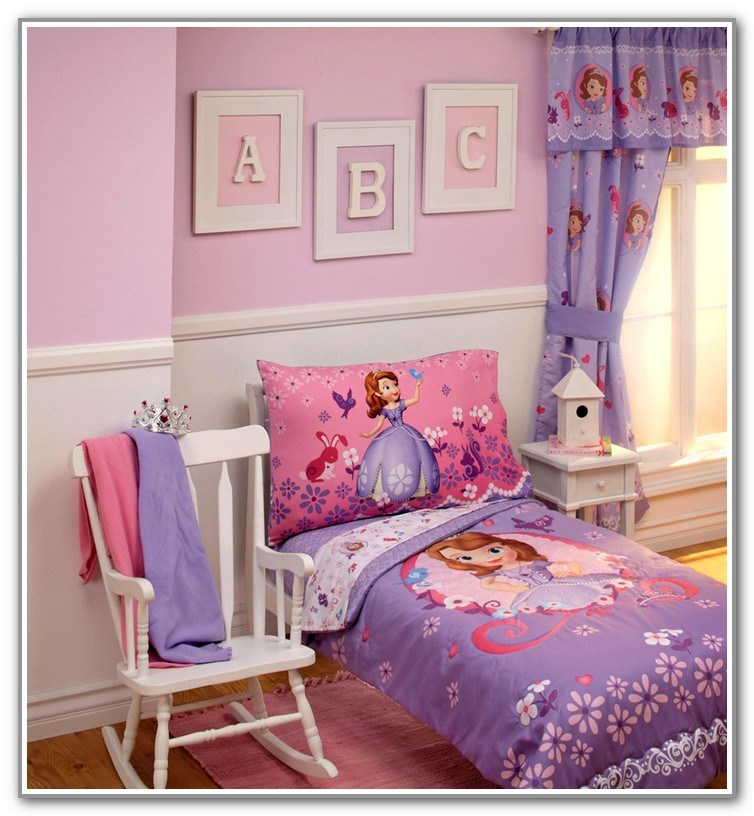 Sofia Toddler Bed Set
