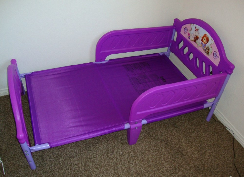 Sofia Toddler Bed