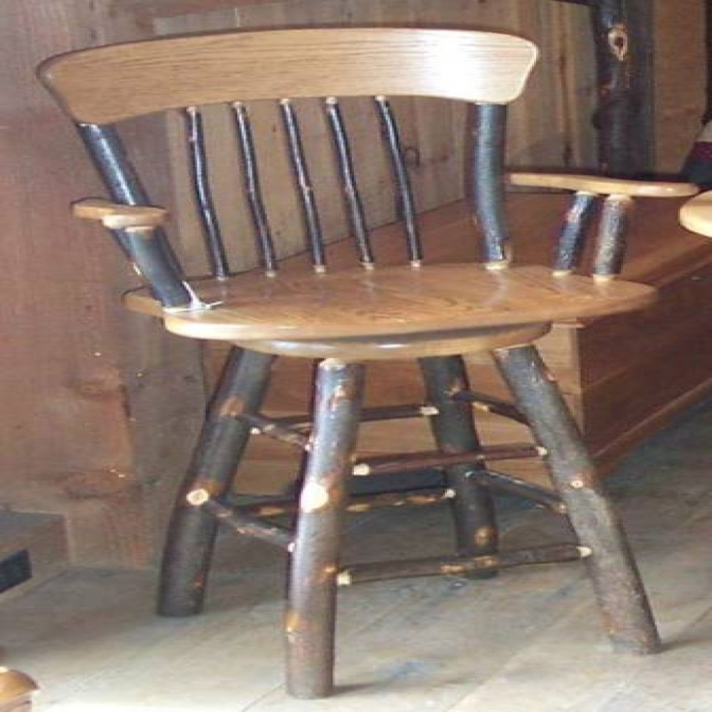 Solid Cherry Wood Bar Stools
