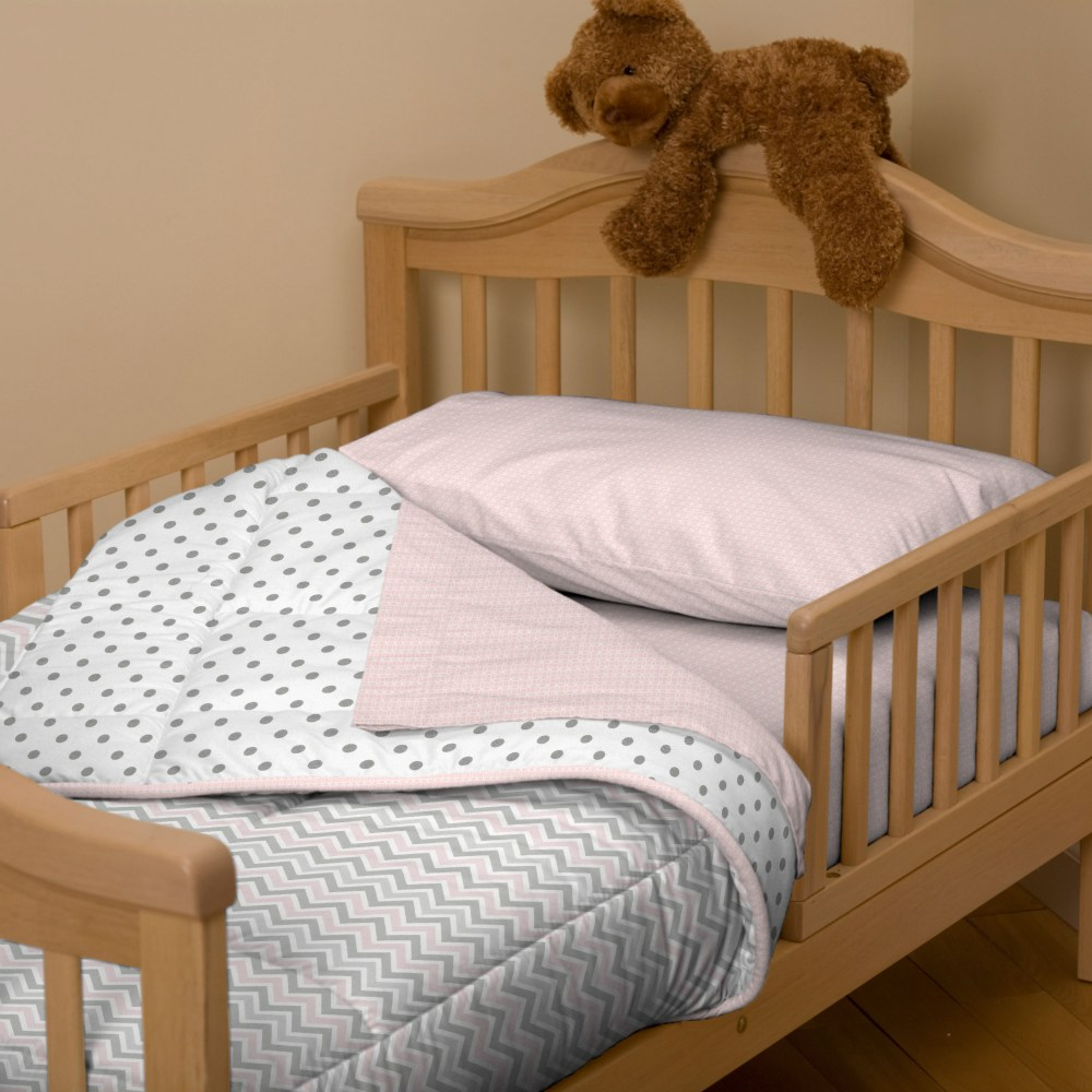 Solid Navy Toddler Bedding