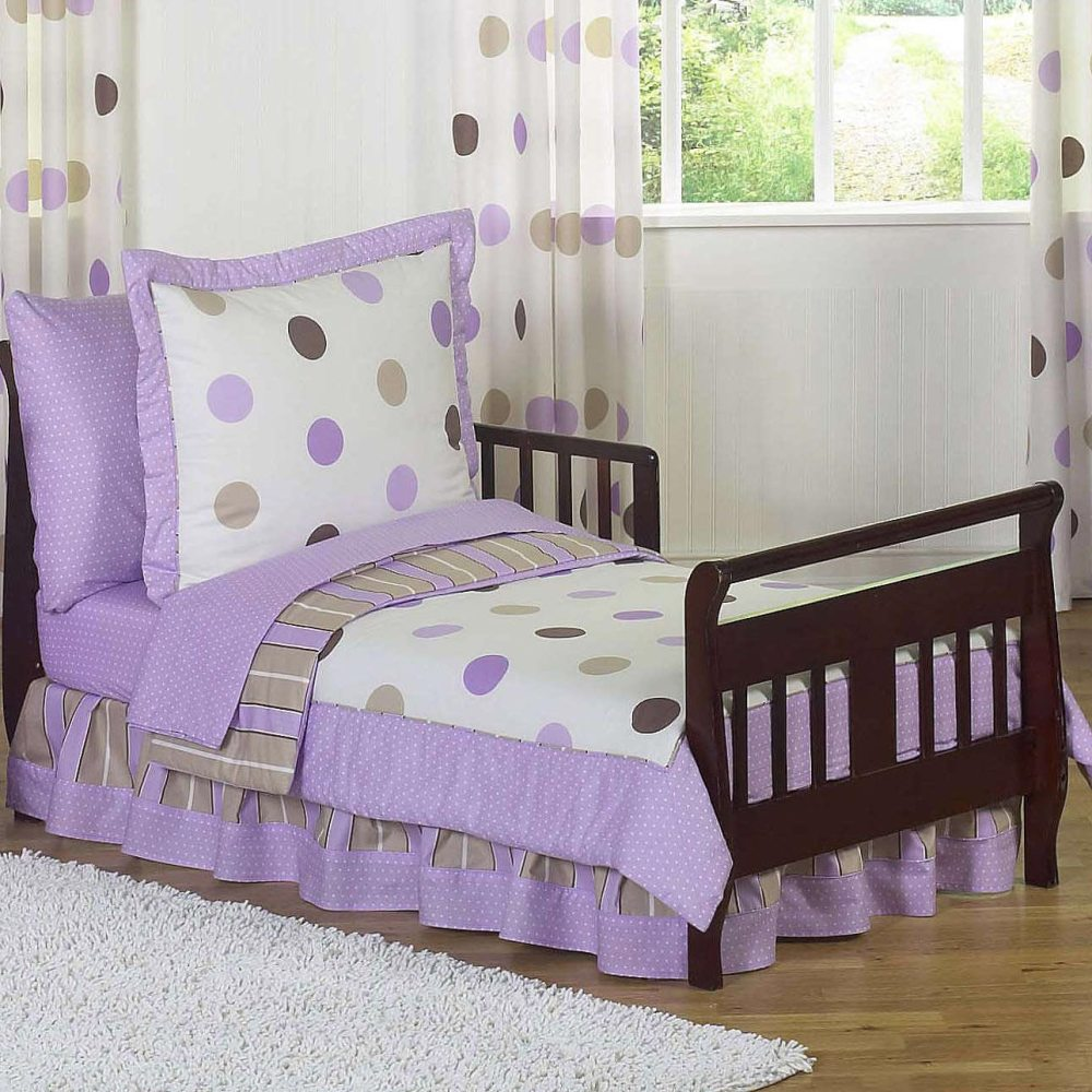 Solid Purple Toddler Bedding