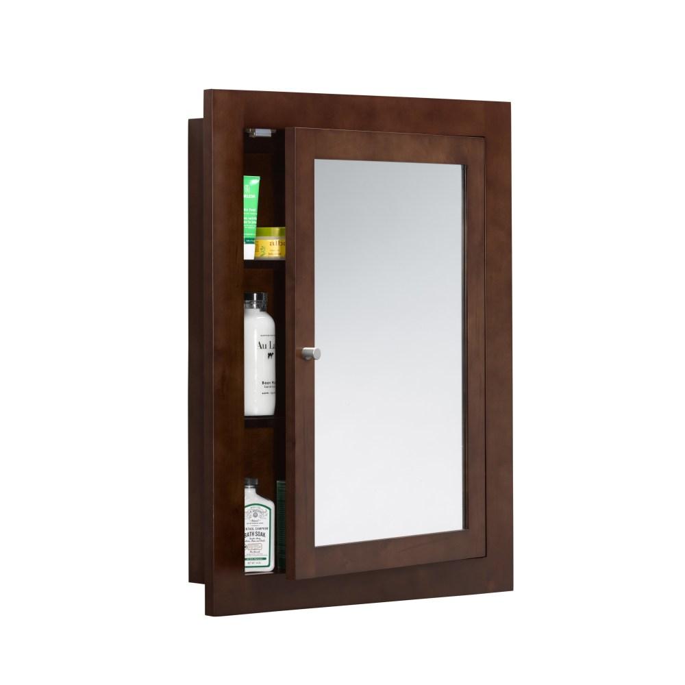 Solid Wood Bathroom Medicine Cabinets