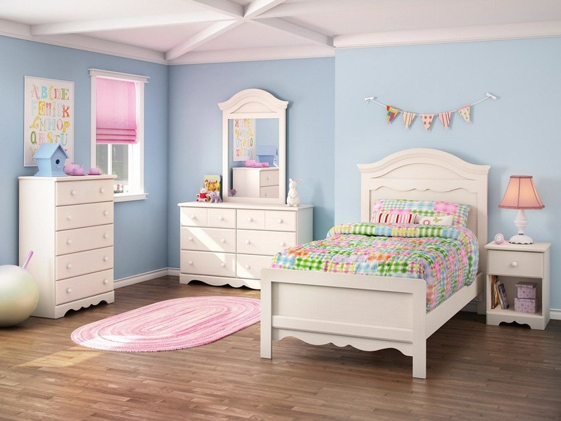 Solid Wood Childrens Bedroom Furniture Sets