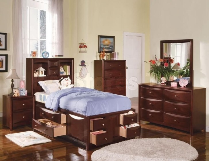 Solid Wood Childrens Bedroom Furniture