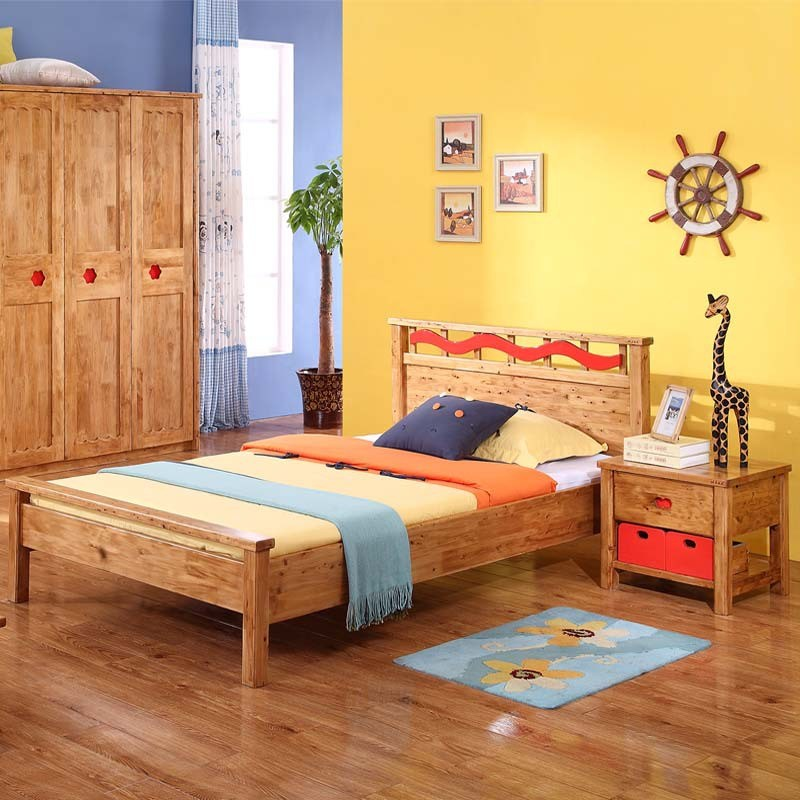 Solid Wood Childrens Beds
