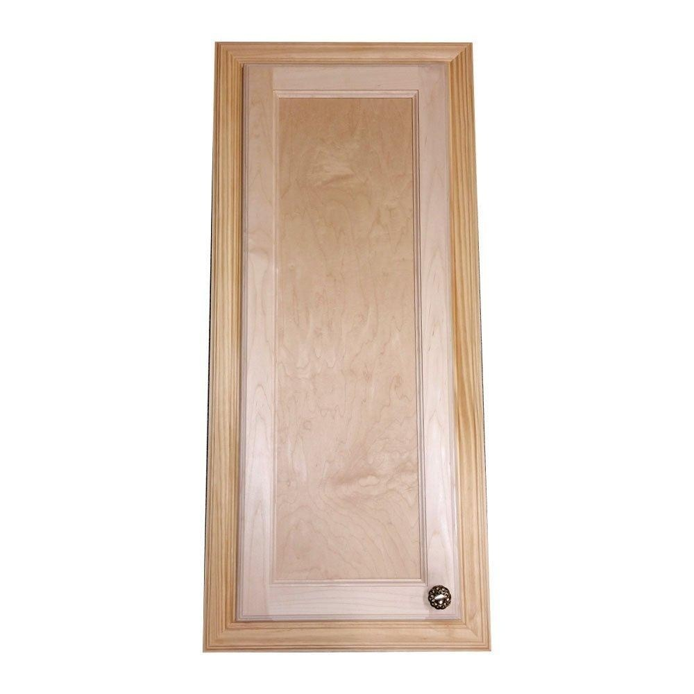 Solid Wood Recessed Medicine Cabinet