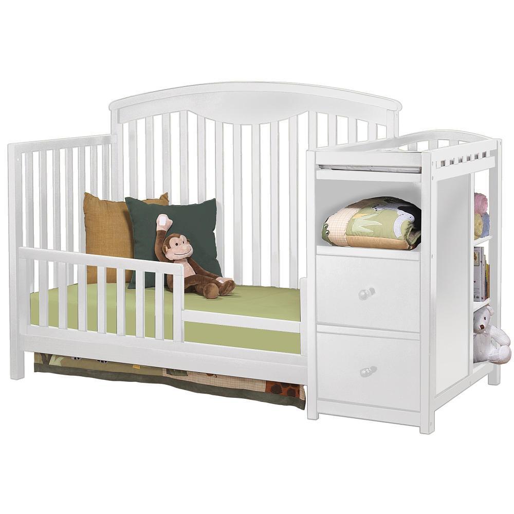 Sorelle Toddler Bed White