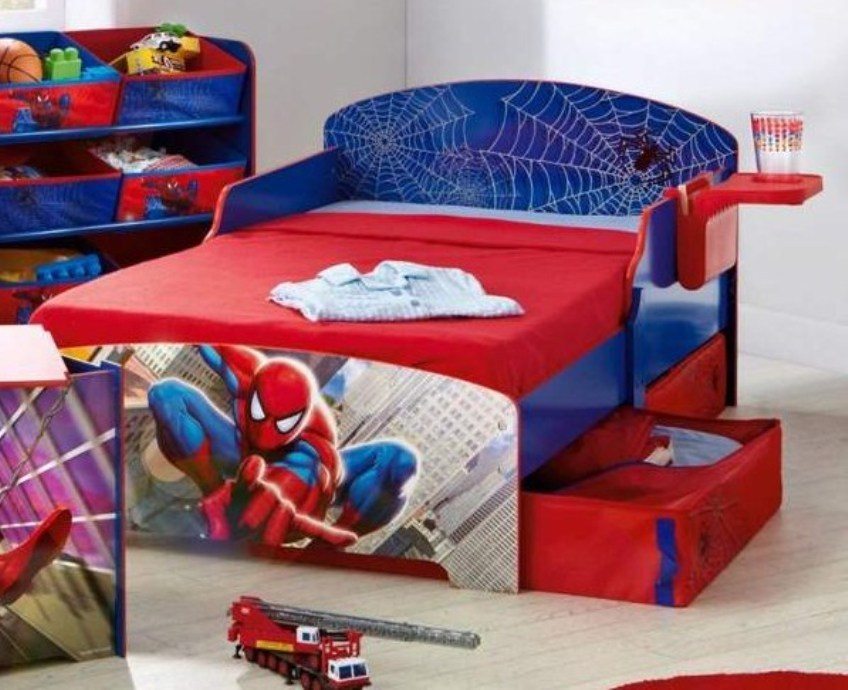 Spiderman Toddler Bed Set