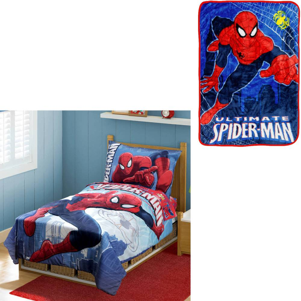 Spiderman Toddler Bedding Walmart