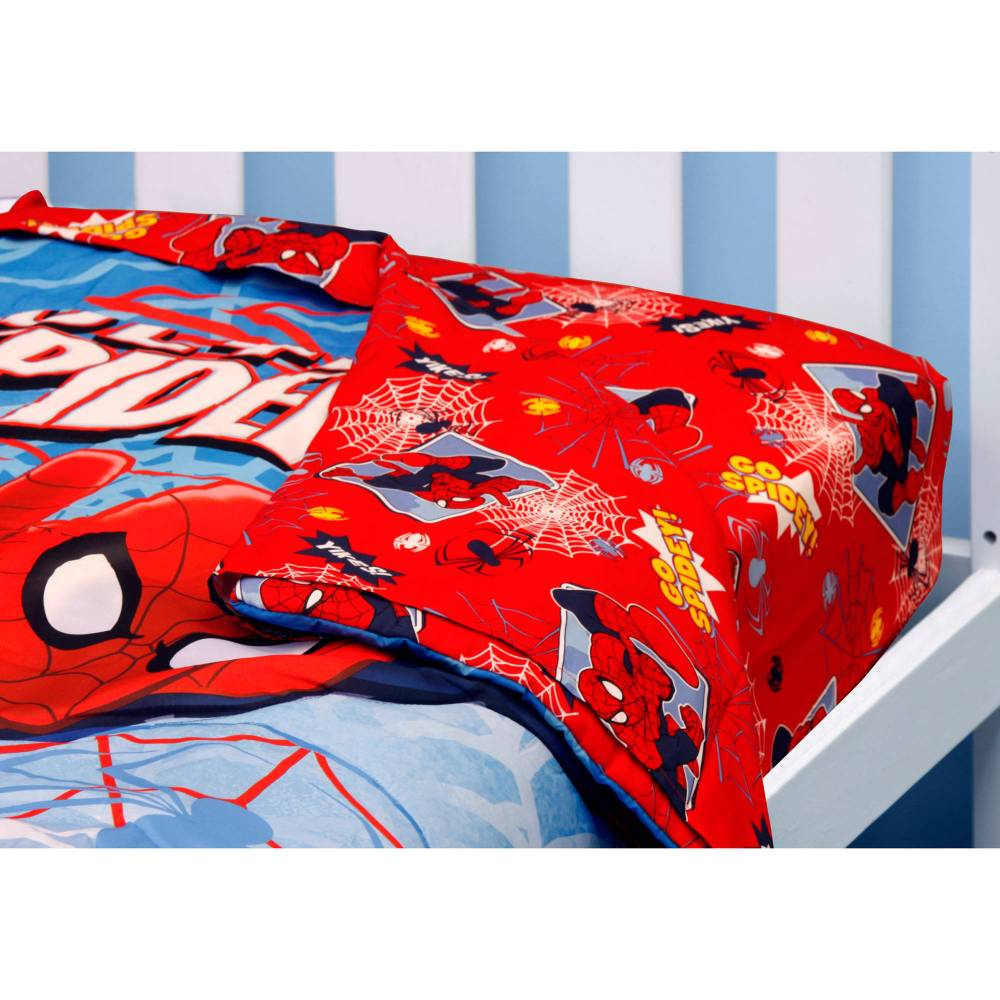 Spiderman Toddler Bedding