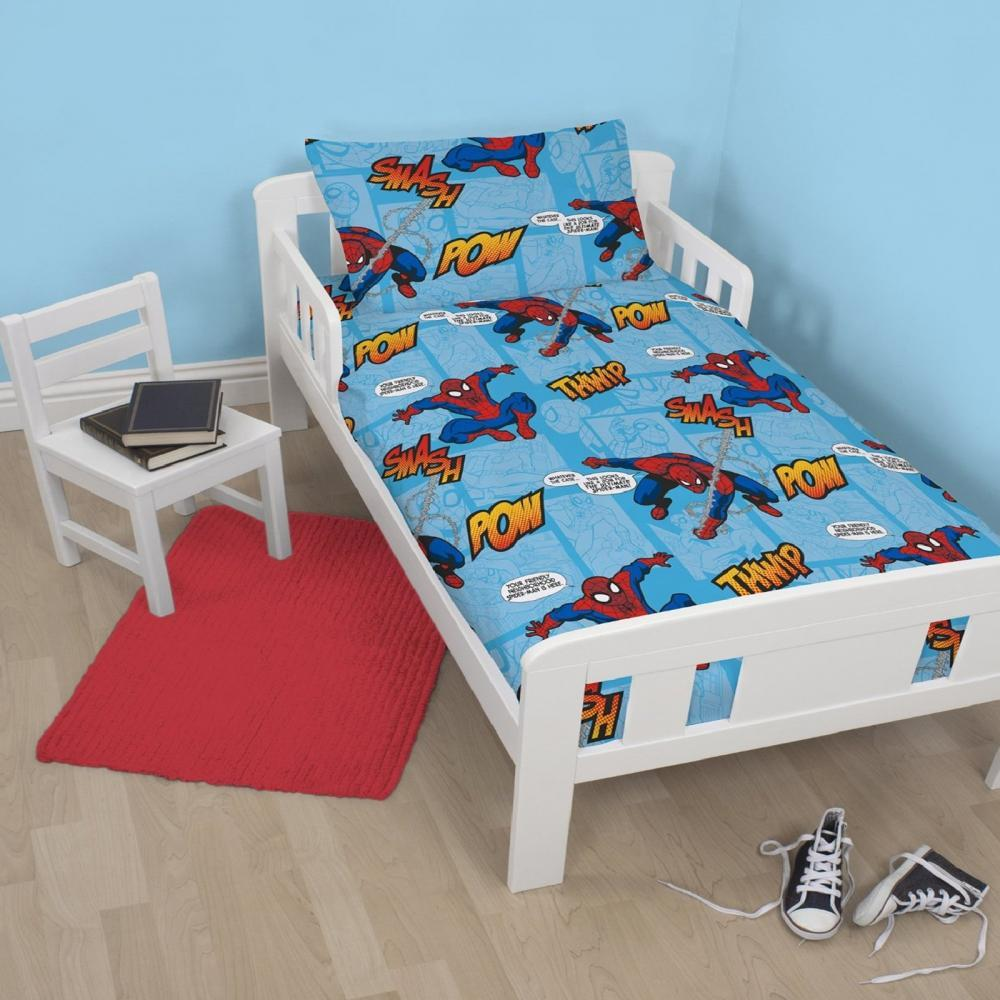 Spiderman Toddler Quilt