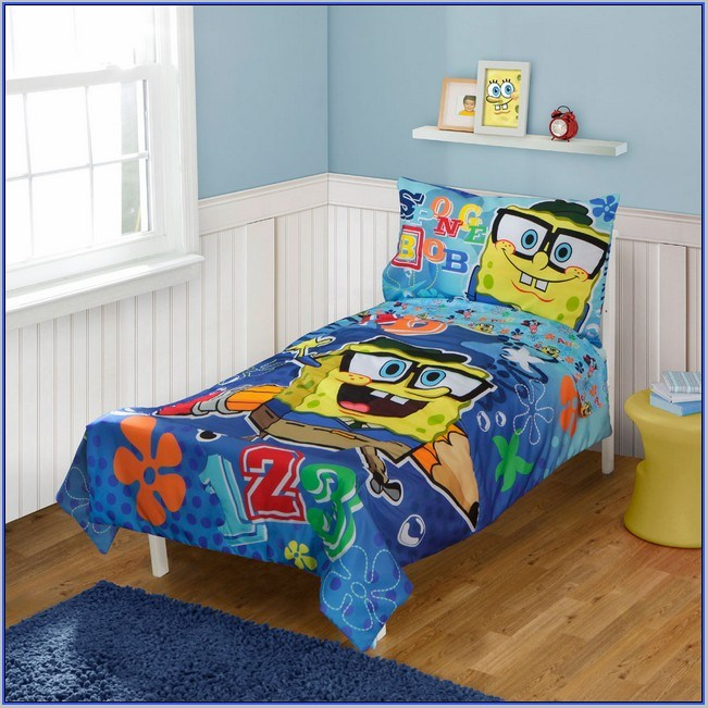 Spongebob Toddler Bed Bundle