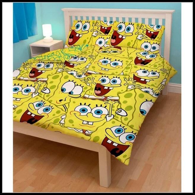 Spongebob Toddler Bed Set Walmart