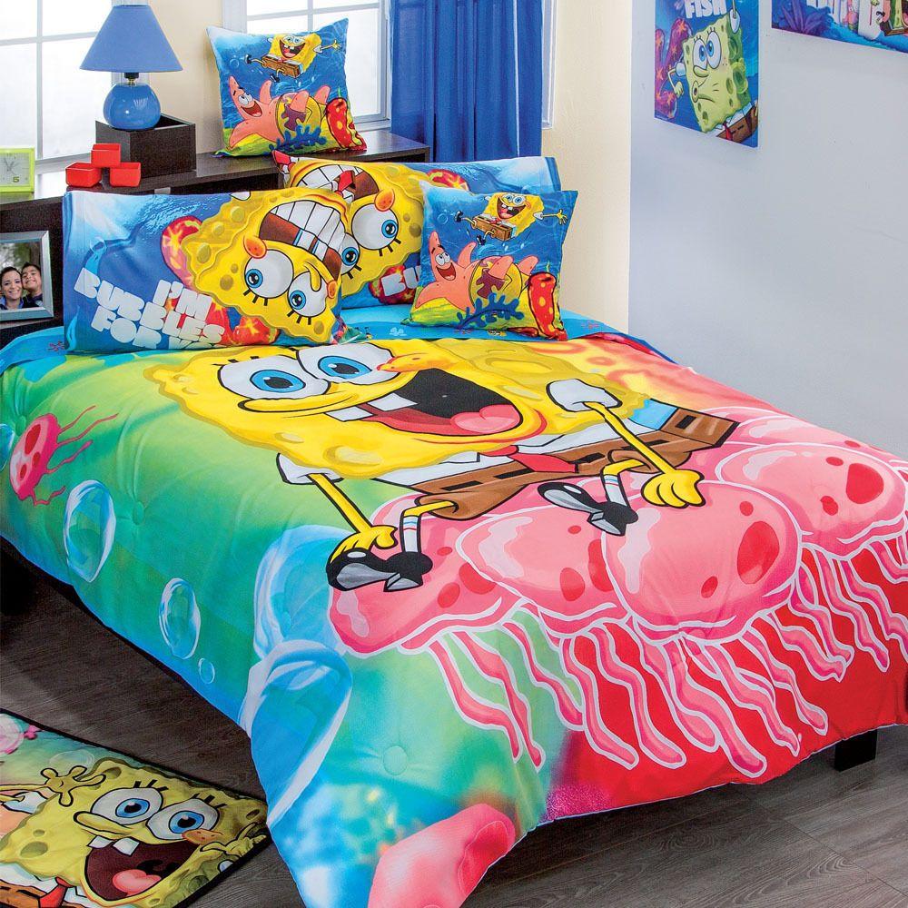 Spongebob Toddler Bed Set