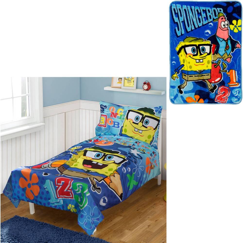 Spongebob Toddler Bedding