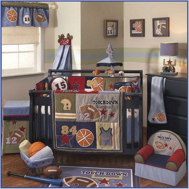 Sports Toddler Bedding