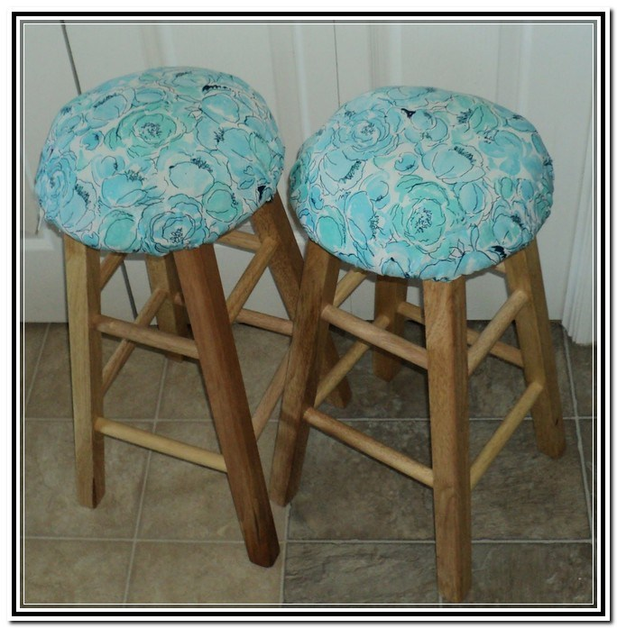 Square Bar Stool Seat Covers