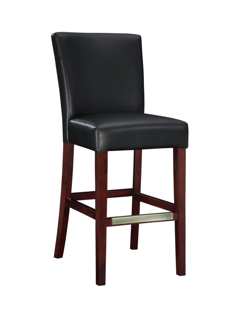 Square Bar Stools With Leather