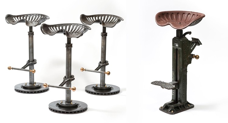 Steampunk Bar Stools