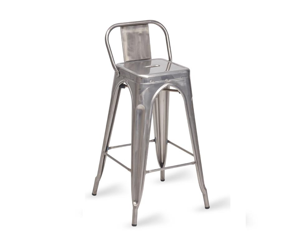 Steel Bar Stools With Backs