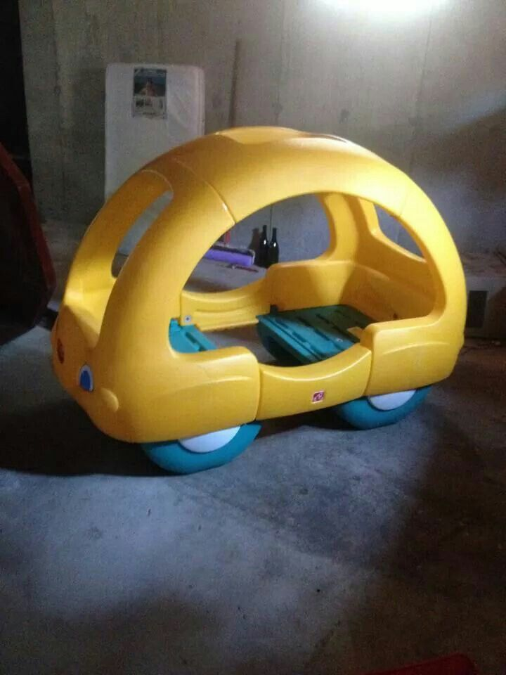Step 2 Toddler Bed Car