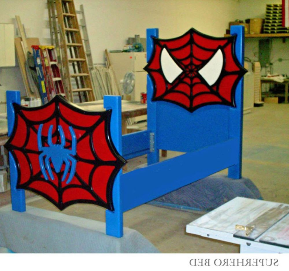 Superhero Toddler Bed Frame