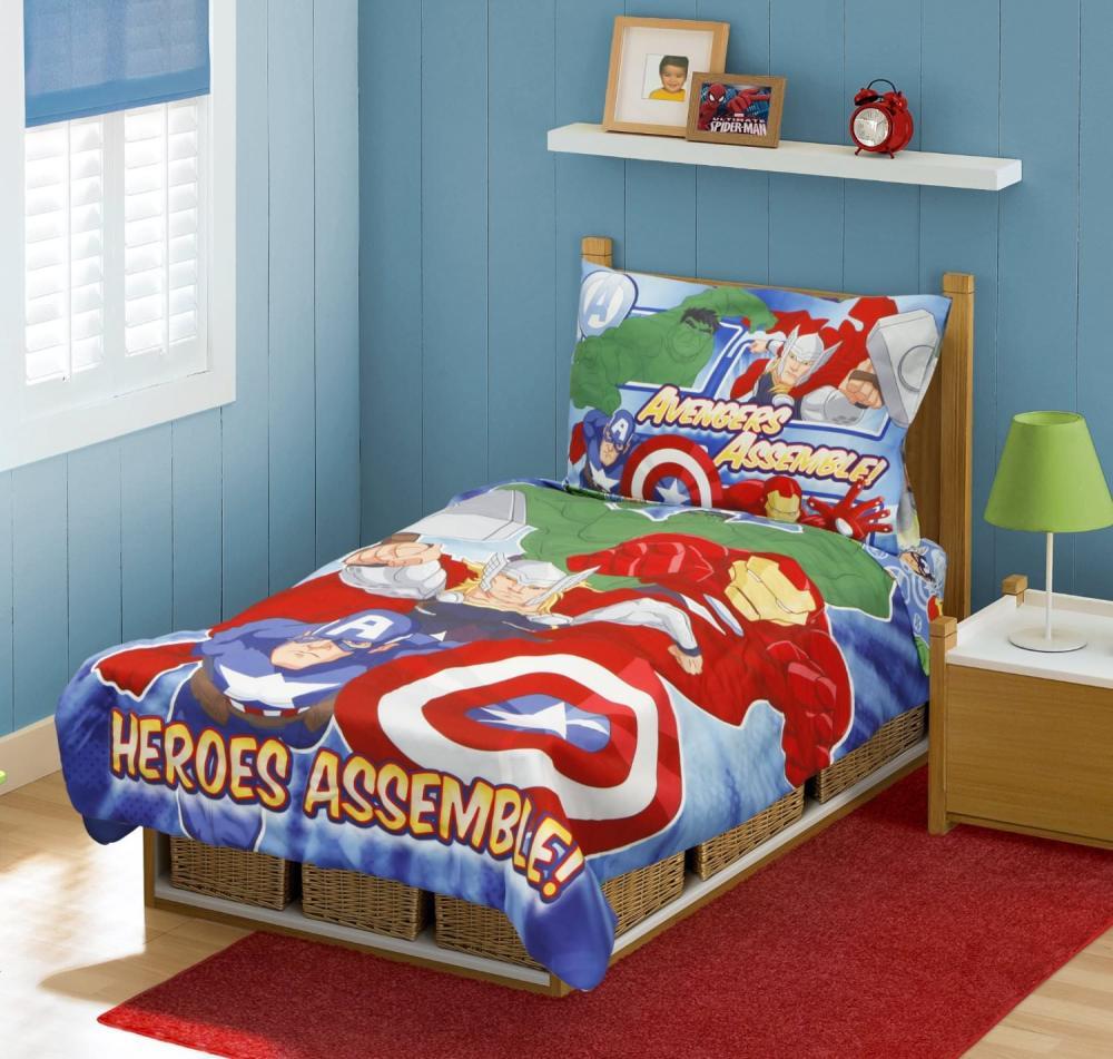 Superhero Toddler Bedding