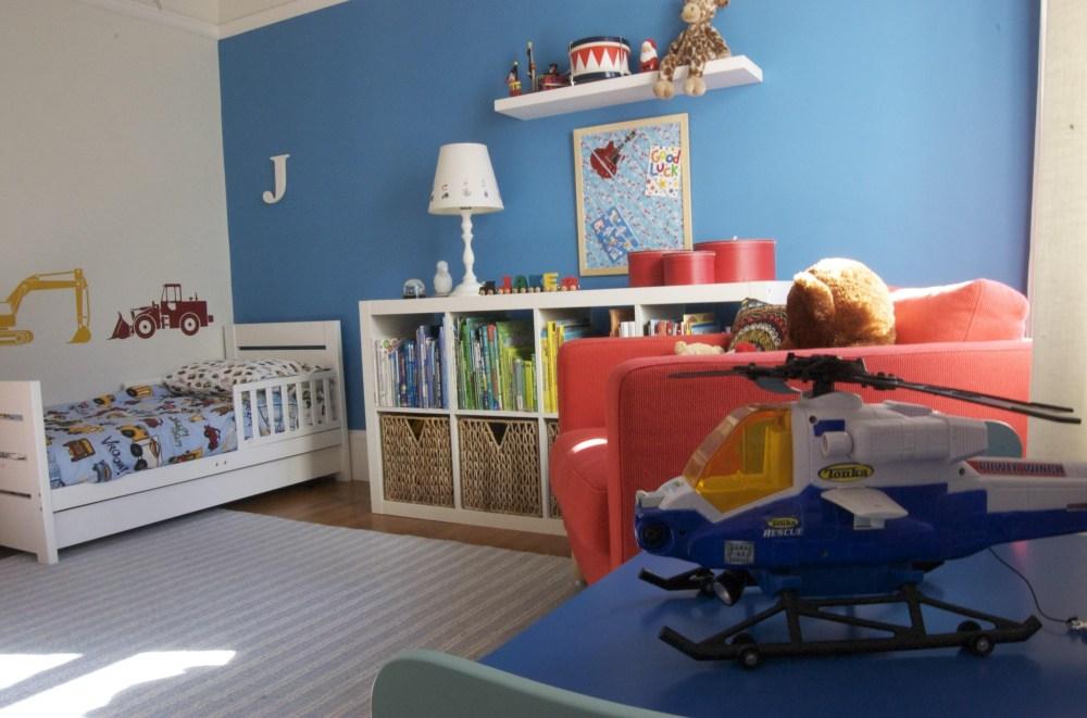 Superhero Toddler Bedroom