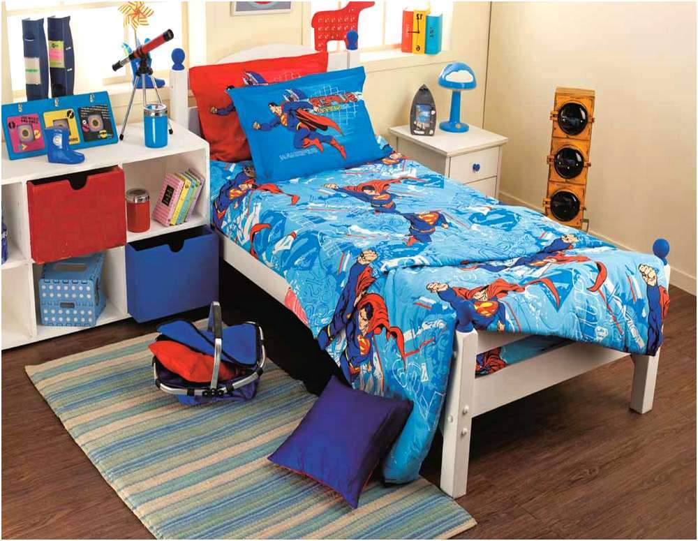 Superman Toddler Bed Set