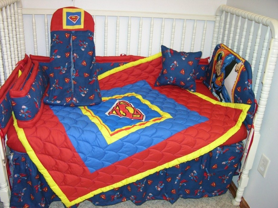 Superman Toddler Bedding