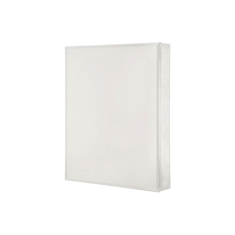 Surface Mount Beveled Mirror Medicine Cabinet
