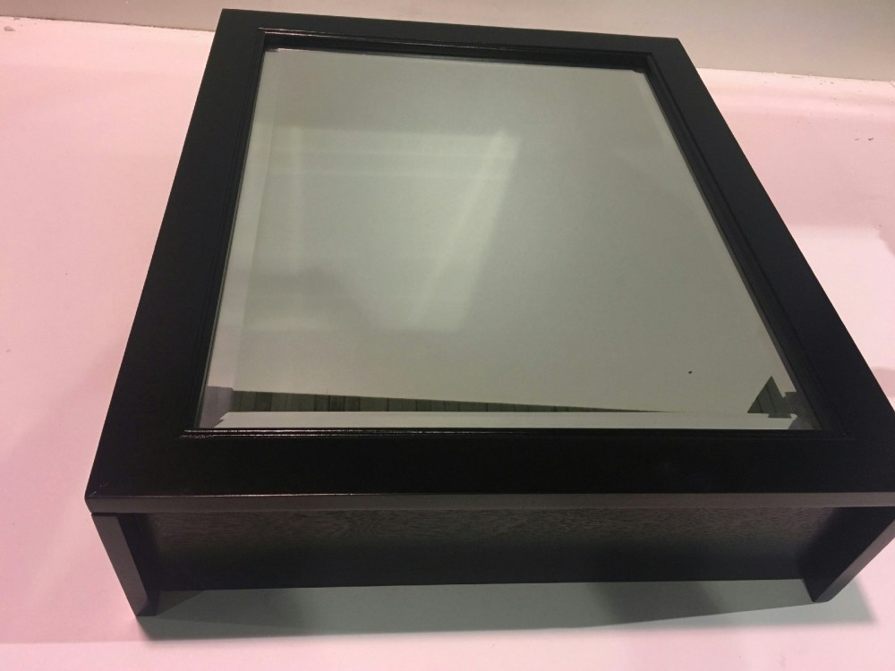 Surface Mount Medicine Cabinet Black