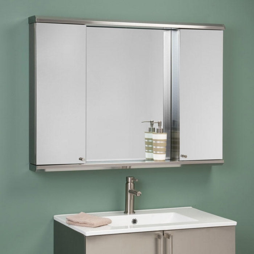 Surface Mount Medicine Cabinets With Mirrors