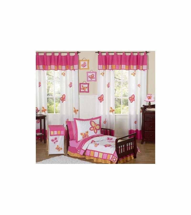 Sweet Jojo Butterfly Toddler Bedding