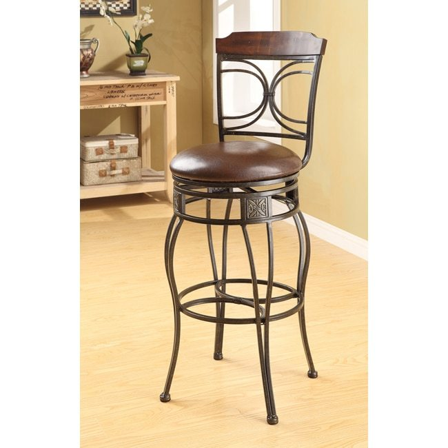 Swivel Bar Stool Set Of 2