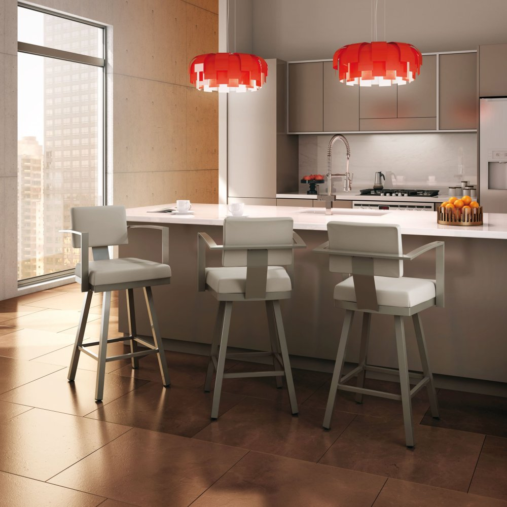 Swivel Bar Stools With Arms And Back