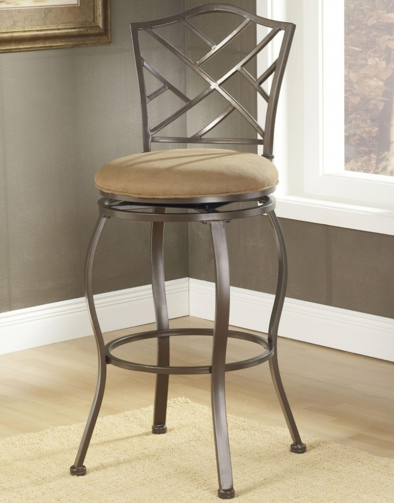 Swivel Bar Stools With Back Metal