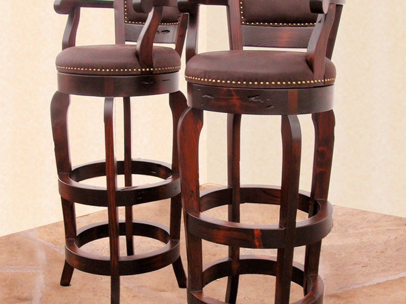 Swivel Bar Stools With Backs And Arms
