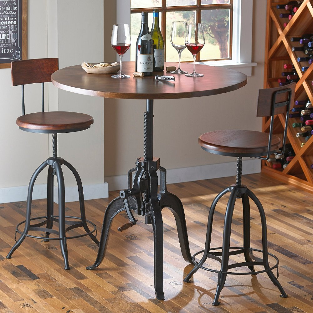 Tall Bar Stools With Wheels