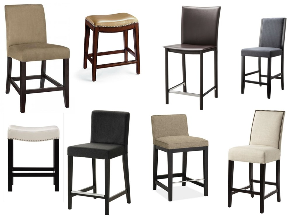 Target Bar Stools Leather